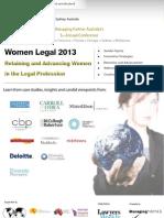 Women Legal 2013 Australia