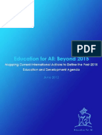 education beyond 2015