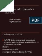 5 PL SQL Estructuras Control
