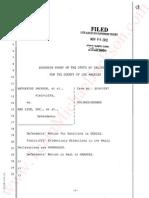 Defendants motion for sanctions denied