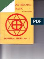 Israel Regardie Art and Meaning of Magic by Israel Regardie 1971