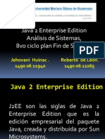 Java 2 Enterprise Edition Para Exponer