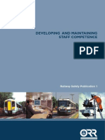 Developing and Maintaining Staff Competencies