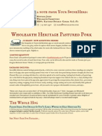 Wholearth Heritage Pastured Pork 2012
