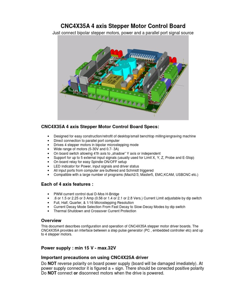 Cnc4x35a User Manual Power Supply Switch With Current Limiter And Stand Alone