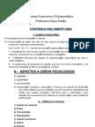 Direito Financeiro e Orçamentário