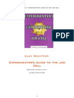 Alex Schiffer - Experimenter's Guide to the Joe Cell v2 (Ita)