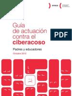 Guía de actuación contra el Ciberacoso para padres/madres y educadores/as