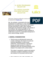 UIA_UNESCO Charter for Architectural Education