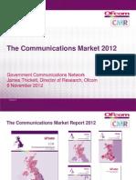 The communications market 2012