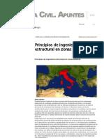 Principios de ingeniería estructural en zonas sísmicas _ Ingeniería Civil