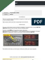 Programação do Rádio - Vectra