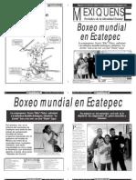 Versión impresa del periódico El mexiquense 8 de noviembre 2012