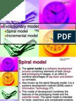 SAD8 Spiral Model and Incremental Model