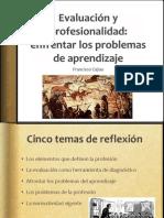 Francisco Cajiao- Profesionalizacion y Evaluacion