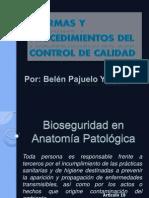 Bioseguridad en Anatomía Patológica 2