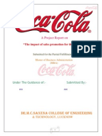 Coke Peoject Report