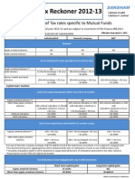 Tax Reckoner 2012-13