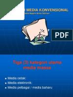 A Memahami Media Konvensional & Strategi Lautan Biru