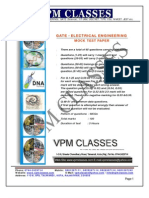 Vpm Classes _free Solved Expected Paper _ Gate 2013 _ Electrical Engg