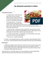 Retete-dukan.ro-lista Celor 100 de Alimente Permise n Dieta Dukan