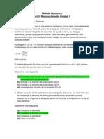 Act 3 Reconocimiento Unidad 1 - Metodo Numerico