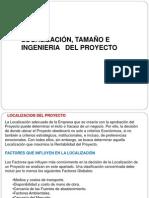 Tamano Localizacion