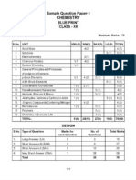Chemistry  2 Sample question Paper - 8 & 9 with marking scheme - 2012