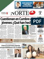 Periodico Norte de Ciudad Juárez 8 de Noviembre de 2012