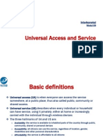 Modul 09. Universal Access and Services