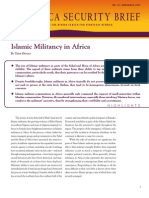 Islamic Militancy in Africa