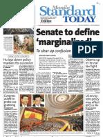 Manila Standard Today - Friday (November 9, 2012) Issue