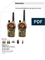 Midland GXT1050VP4 36-Mile 50-Channel FRS/GMRS Two-Way Radio