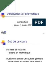Environnement Windows 2007