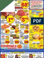 Friedman's Freshmarkets - Weekly Specials - November 15 - 21, 2012