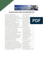 Brooklyn Daytime Warm Shelters