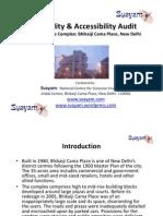 Walkability and Access Audit Report - Bhikaiji Cama Place, New Delhi