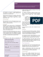 Self and Peer Assessment QuickGuide