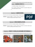 TD 10 - Cinmatique Analytique - Composition Des Vecteurs Vitesses Et Champ Des Vecteurs Vitesses