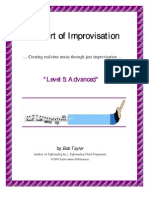Bob Taylor - Art of Improvisation, 05 Advanced