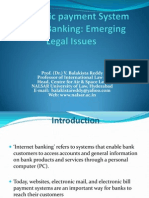 Electronic Payment System and E- Banking