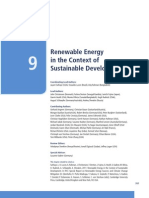 Chapter 9 Renewable Energy in the Context of Sustainable Development
