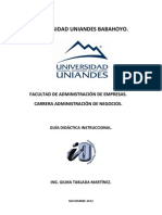 GUÍA INSTRUCCIONAL DE IO UNIANDES. PARTE II-A (1)
