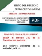 1. Fundamento Del Derecho Principios Generales Del Derecho