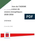 Synthese Scenario 2030-2050