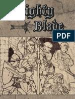 Mighty Blade V 2.5 - Manual Básico