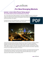 121101 Europe - Poland-Turkey -The Search for New Emerging Markets
