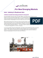 121101 Asia - Indonesia-Philippines -The Search for New Emerging Markets