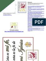 Pocket Folder Año de la Fe - jovenes 15 años