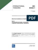 Norma IEC60364 1